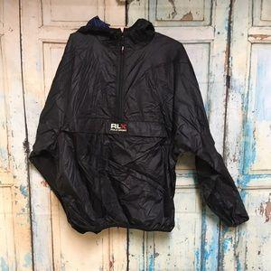 NEW Vintage Ralph Lauren Polo Black Jacket XL